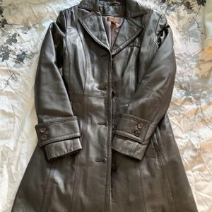 Danier Leather Trenchcoat